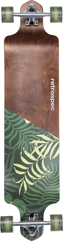 Retrospec Tidal 41 Inch Drop Down Longboard Skateboard Complete Skateboarding Sports Outdoors Rayvoltbike Com