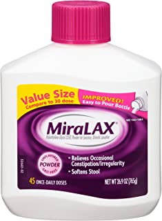 MiraLAX Laxatives, 26.9 Ounce (Discontinued by Manufacturer)