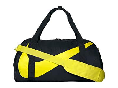 Nike Kids Gym Club Duffel Bag (Little Kids/Big Kids) (Oil Grey/Oil Grey/Dynamic Yellow) Duffel Bags