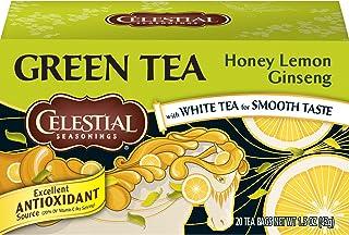 Celestial Seasonings Honey Lemon Ginseng Green Tea, 20 ct