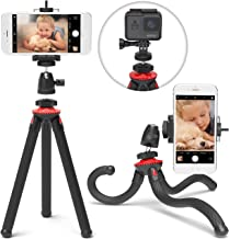 Xenvo SquidGrip iPhone Tripod, GoPro Tripod – Flexible Cell Phone Tripod Stand with..