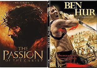 Power Betrayal & Revenge - Ben Hur Epic Mini Series Event & The Passion of the Christ 2-DVD Film Bundle