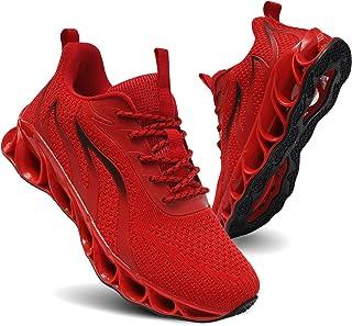 TIAMOU Women's Road Running Shoes Walking Athletic Tennis Non Slip Blade Type Sneakers