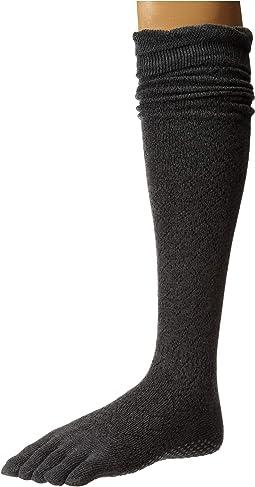 Scrunch Knee High Full Toe w/ Grip