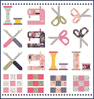 Keera Job in The Meadow Celebrate Sewing 10th Anniversary Quilt Kit Riley Blake Designs KT0177