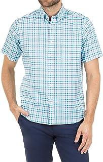 Blazer Men's Gavin Short Sleeve Check Shirt