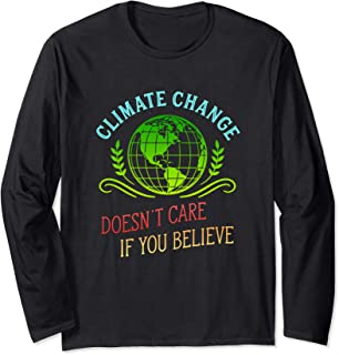 Climate Change Shirt Believe the Science March Tshirt