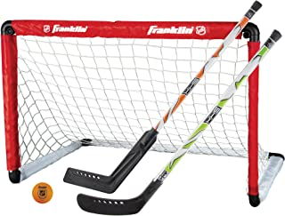 Franklin Sports NHL Goal & 2 Stick Set