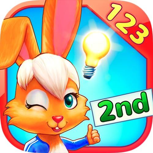 Wonder Bunny: Carrera Matemática - Aplicación de 2º curso para aprender los números, la suma y la resta