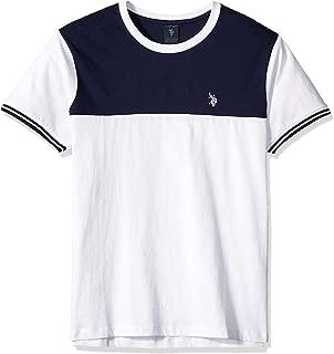 Men's Two Tone Crew Neck T-Shirt