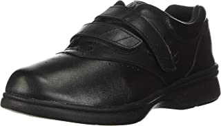 Propet Women's W3915 Vista Walker Sneaker,Black Smooth,9 W (US Women's 9 D)