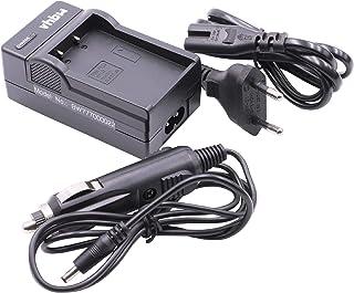 vhbw Akkuladegerät kompatibel mit Olympus BLS 5, BLS50, BLS 50, PS BLS1, PS BLS5 Digitalkamera, Camcorder, Action Cam Akku   Ladeschale