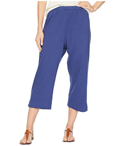 Fresh Produce Jersey Capri Pants (Moonlight Blue) Women