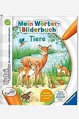 tiptoi® Mein Wörter-Bilderbuch Tiere Spiralbindung