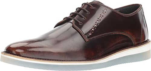Steve Madden Hommes's Intern Intern Oxford, marron Leather, 7.5 M US  haute qualité authentique