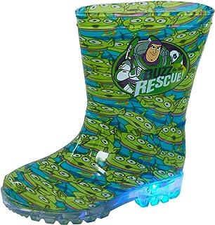 Disney Toy Story Light Up Wellington Boots Kids Buzz Aliens