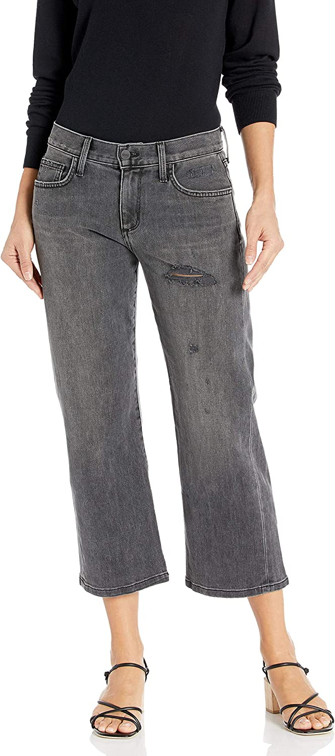 SIWY Women's Maria Luisa Parallel Leg in Long-awaited Black Cadillac Mail order Jeans