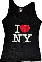 I Love NY Tank Top Ladies Heart Logo Womens New York City