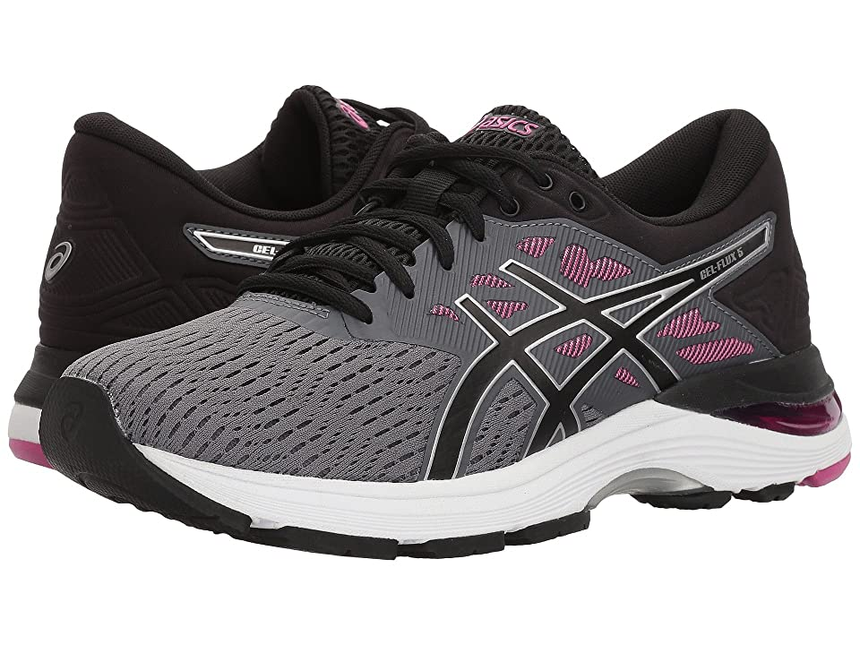ASICS GEL-Flux 5 (Carbon/Black/Fuchsia) Women