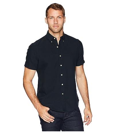 Polo Ralph Lauren Oxford Short Sleeve Sport Shirt (Polo Black) Men