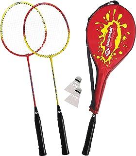 comprar comparacion Schildkröt Juego de Bádminton para 2 Jugadores, 2 Raquetas, 2 Volantes, en un Estuche de Transporte, 970902