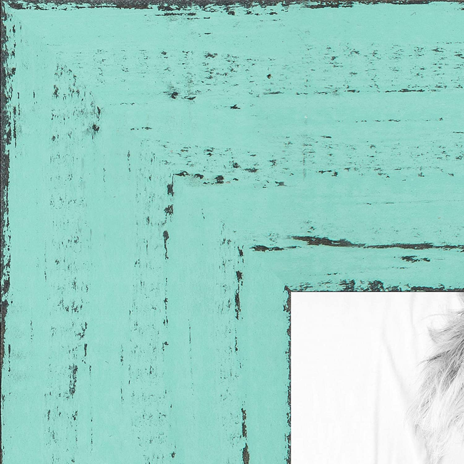 ArtToFrames 新色追加 22x33 inch 5%OFF Weathered in Saturated Eggshell Barnwood