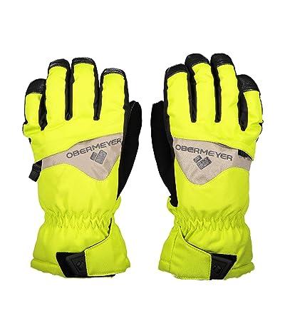 Obermeyer Kids Lava Gloves (Little Kids/Big Kids) (Limelight) Extreme Cold Weather Gloves