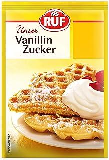 RUF Vanillin-Zucker glutenfrei und vegan, 42er Pack 42 x 10 x 8g