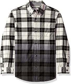 Boys' Big Long Sleeve Flannel Button Down Shirt