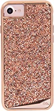 Case-Mate iPhone 7 Case - BRILLIANCE - 800+ Genuine Crystals - Protective Design for Apple iPhone 7 / iPhone 6 - Rose Gold
