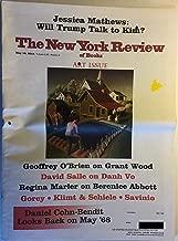 The New York Review of Books, vol. LXV (65), no. 8 (May 10, 2018): Donald Trump/Kim Jong-Un summit; Grant Wood; Danh Vo; Berenice Abbott; Edward Gorey; Gustav Klimt; Egon Schiele; Rachel Kushner; etc.