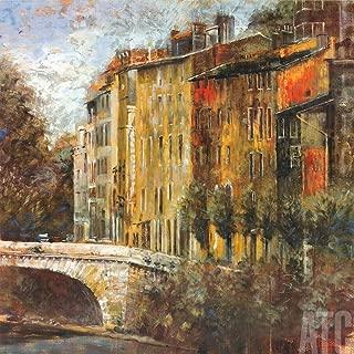 ArtToCanvas 27W x 27H inches : Rue de la PARC by Michael Longo - Paper Print ONLY