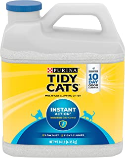 Purina Tidy Cats Instant Action Clumping Cat Litter White 6.35 kg