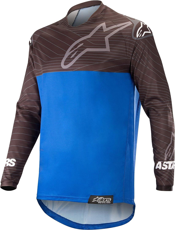 Alpinestars Unisex-Adult Tampa Mall Venture R Jersey Japan's largest assortment Blue Black Multi Sm