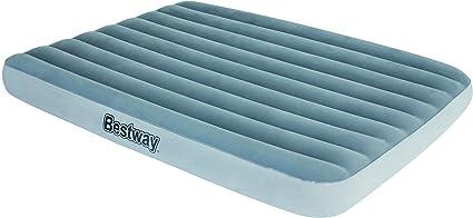 Bestway 67541 - Colchón Hinchable RestEase Doble 203x152x25 cm