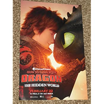 How to Train Your Dragon Hidden World Movie Poster Glossy MCP439 Posters USA