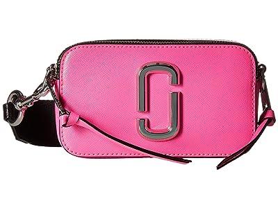 Marc Jacobs Snapshot Fluoro (Bright Pink) Handbags