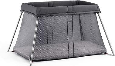BABYBJORN Travel Crib Easy Go, Anthracite