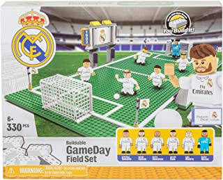 Basic Fun Soccer Game Day Field Set - Real Madrid