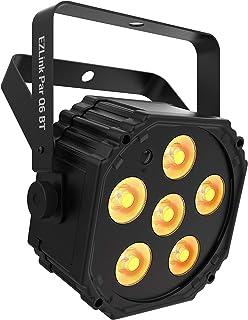 CHAUVET DJ Battery Powered LED Par w/Bluetooth, Black (EZlink Q6 BT)