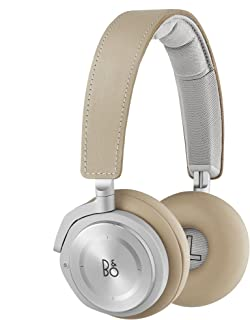Bang & Olufsen Beoplay H8 Wireless On-Ear Headphones, Bluetooth Advanced Active Noise Cancelling Headphones, Natural