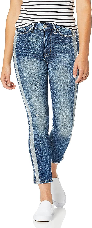 HUDSON Dallas Mall Women's Zoeey High Rise Jean Long Beach Mall Ankle 5 Pocket Straight