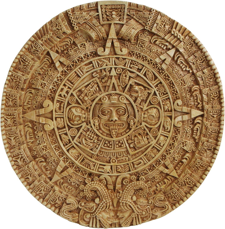 Aztec Solar Calendar Wall Relief - Large