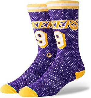 Stance, Calcetines NBA Los Angeles Lakers 94 HWC The Uncommon Thread Morado/Amarillo/Blanco