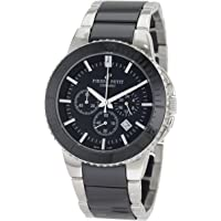 Pierre Petit P-809A Serie Colmar Mens Black Dial Chrono Watch