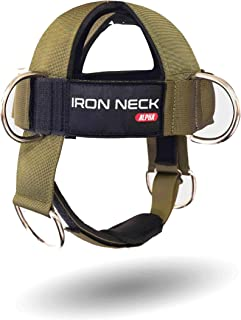 Iron Neck Alpha Harness – Neck Harness Workout Accessory...