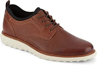 حذاء أوكسفورد كاجوال كاجوال رجالي من سلسلة أرمسترونغ من الجلد