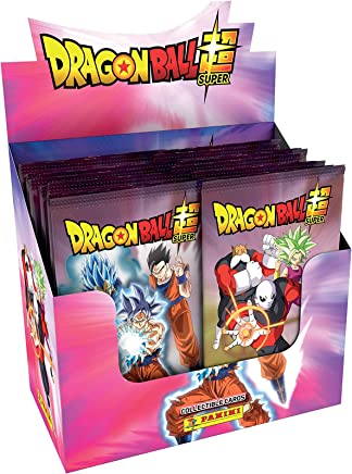 Caja Dragon Ball Súper TC. (24 sobres , 5 tarjetas por sobre)