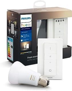 Philips Hue Light Recipe Kit - E27 - Duurzame LED Verlichting - Warm tot Koelwit Licht - Dimbaar - Verbind met Bluetooth o...