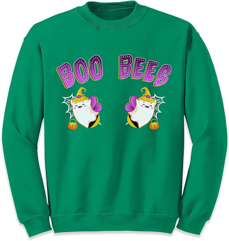 Boo Bees Funny Max 89% OFF Ghosts List price Sweatshirt Women Halloween